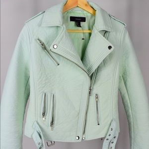 Forever 21 Motorcycle Jacket Mint